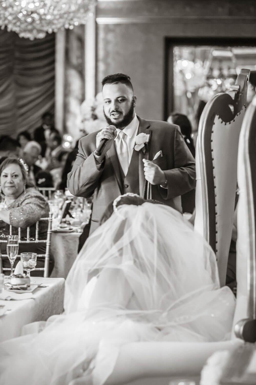 Best Mans speech at Seasons New Jersey Wedding Photography