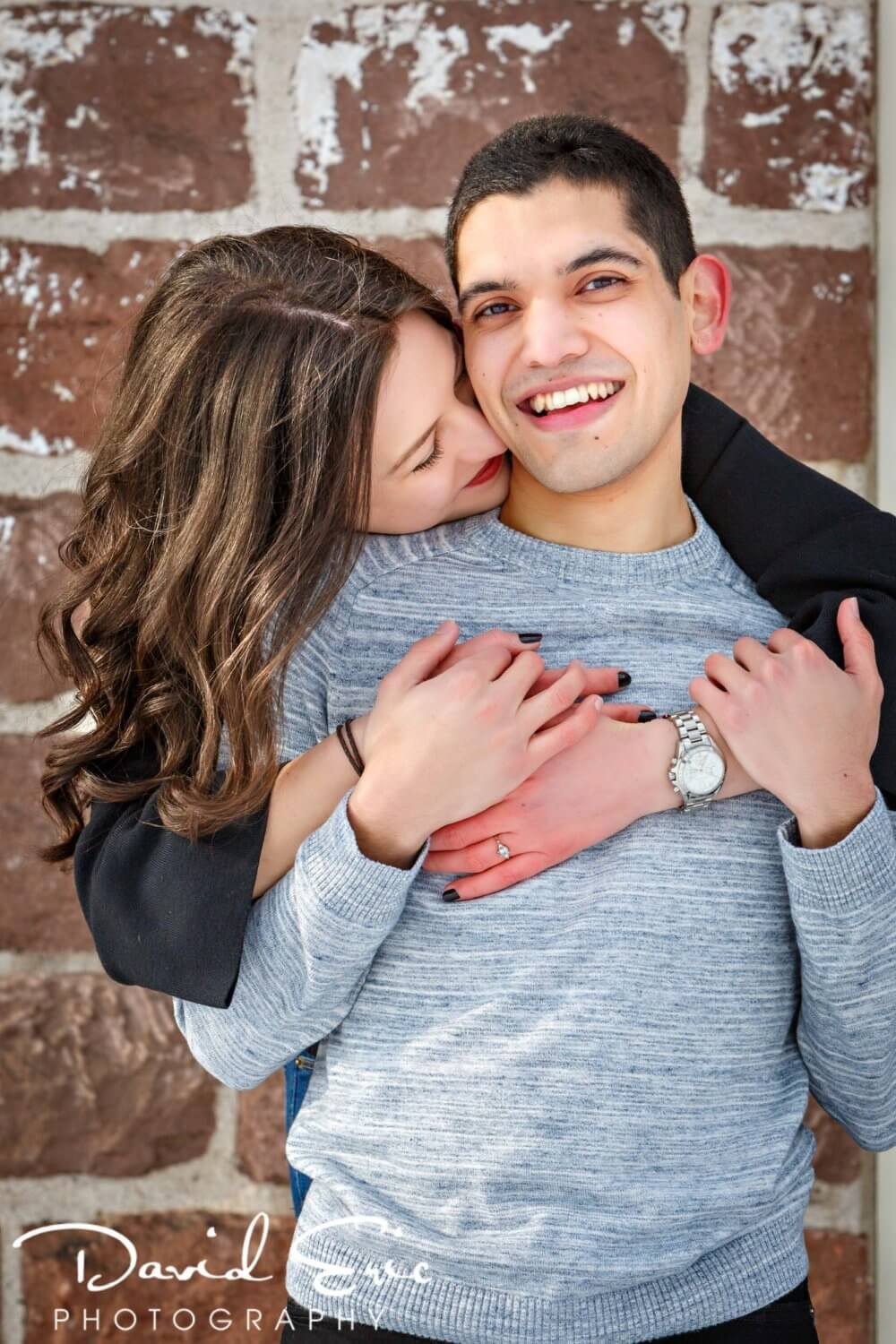 wintertime Engagement Session