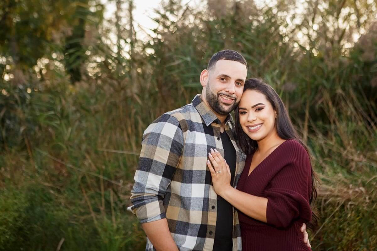 Engagement session in New Jersey Parks